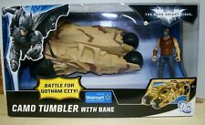 Dark Knight Rises - Camo Tumbler with Bane Action Figure NEW IN BOX SEALED