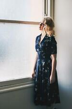 Elise Design Floral navy Dress
