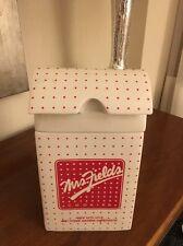 Mrs. Fields Cookie Bag Cookie Jar
