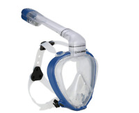 U.S. Divers AirGo Full Face Snorkel Mask - 180° Panoramic Visibility, Large/XL