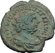 CARAUSIUS 287AD Londinium LONDON Mint Authentic Ancient Roman Coin PAX i64016