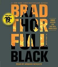 FULL BLACK unabridged audio book on CD by BRAD THOR