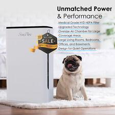 Home True Hepa Air Purifier Large Room Air Cleaner for Allergies Smoker Pet Dust