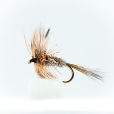 24 Dry Adams flies mixed sizes