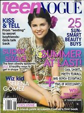 Teen Vogue Magazine Selena Gomez Lauren Conrad Obesity Smart Beauty Buys Fashion