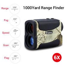 6X Golf Range Finder 1000M Distance Measure Tester w/ Pin Seeker 20 Seconds Scan