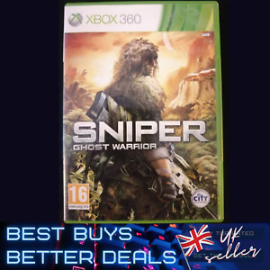 Sniper Ghost Warrior Xbox 360 Game TESTED PAL