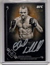 2017 Topps UFC Museum Collection Auto CHUCK LIDDELL Copper SP AUTOGRAPH 20/25