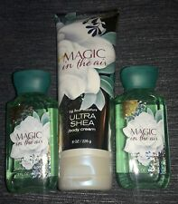 NEW Magic in the Air Bath and Body Works LOT Body Cream and Shower Gel NEW
