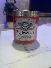 New Budweiser Beer Can Coozie - Beer Hugger Anheuser Busch