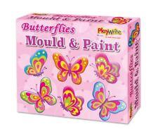 Haga su propio Molde De Mariposa Y Pintura FRIDGE MAGNET Craft Actividad Set