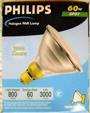 8x Philips 60W 120V PAR38 Halogen Spot Light Bulb 60PAR38/HAL/SP10