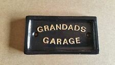 Grandad's Garage