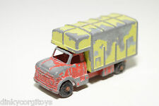TUF-TOTS TUF TOTS LONE STAR BOX VAN TRUCK RED YELLOW GOOD CONDITION