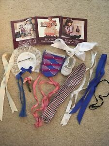 American Girl Pleasant Company LOT Accessories Ribbons Samantha Felicity