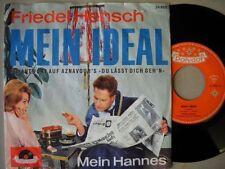 Friedel Hensch - Mein Ideal - Deutsche Coverversion Charles Aznavour
