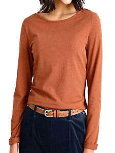 EX SEASALT Orange Nutmeg Organic Cotton Easel Top 16P 18P 10R 14R 16R 18R 26/28R