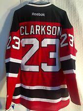Reebok Premier NHL New Jersey Devils Clarkson JERSEY Red sz L