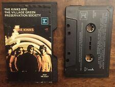 RARE: The Kinks The Village Green Preservation Society LP Original Cassette Tape
