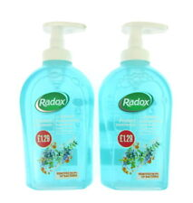 2 x Radox lave main propre & protection, 300ML chaque