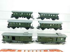 bj395-1#6x Märklin H0/AC AUTO LATTA / Vagone bagagli: 4002+4003