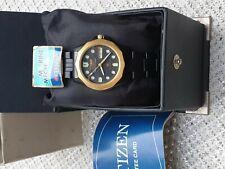 vintage NOS unused black MARINE MECHA automatic men's watch