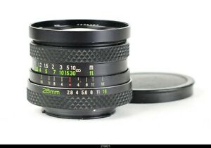 * Lens Voigtlander Color Skoparex 2,8/28mm AR Black  for Rollei Rolleiflex SL350