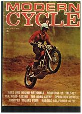 MODERN CYCLE AUGUST 1966 SEE CONTENTS VW POWERED BIKE ITALJET TRAIL 90 SUZUKI X6