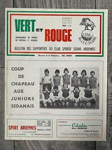 1972/73 CS Sedan Ardennes - Olympique Lyonnais Lyon France