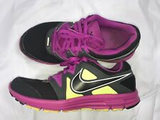Nike Lunarfly 3 +  Running Shoes, #487751-005, Black/Grape/Volt, Women's US 8