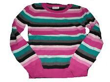 H & M toller Strick Pullover Gr. 146 / 152 rosa-blau-grau gestreift !