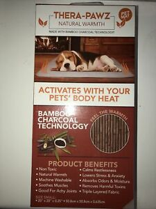 Green Pet Shop Thera-Pawz Natural Warmth Pet Mat Small New
