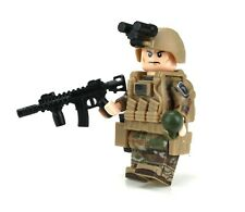 Army OCP 101st Airborne Soldier Made With Real LEGO® Minifigure