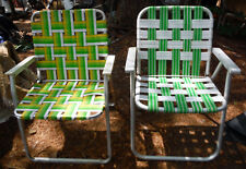 Lot of 2 Vintage? Aluminium Folding Chairs