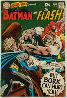Brave and the Bold #81 FN+ 6.5 1969 The Flash & Batman Neal Adams Cover and ART!