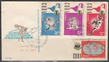 1Cuba Scott 753-6 FDC - Latin American University Games
