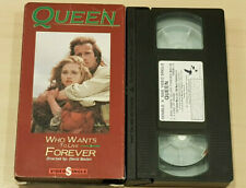 QUEEN - VHS Video - Who Wants To Live Forever Video Single - EMI 1986