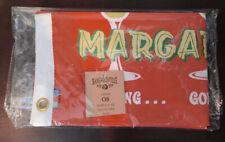 Margaritaville Jimmy Buffett Boat Drinks Flag 12 × 18 Double Sided Deck/Boat
