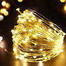 100/200 LED Solar Powered Fairy String Light Outdoor Garden Party Xmas Lamps il