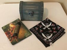 Melissa & Doug Wooden Pirate Chest Skull Latch Secret Compartment Disney Items