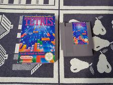Nintendo Nes Spiel mit OVP TETRIS
