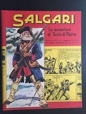 SALGARI - LE AVVENTURE DI TESTA DI PIETRA - DIS. FERRARI - Cartoon Museum OTTIMO