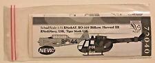 Dutch Decal 1/72 BO-105 Bolkow RNethAF. Harvard and Tiger Moth LSK.72040