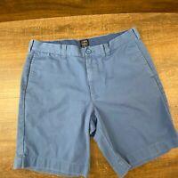 J. Crew Gramercy Cotton Casual Chino Blue Shorts B-133 Men's Size 34W Fast Ship
