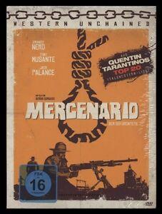 DVD MERCENARIO - QUENTIN TARANTINO'S LISTE - FRANCO NERO + JACK PALANCE Western