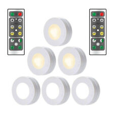 3pcs Wireless Remote Control Battery Operated Under Cabinet SMD LED Light