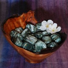 1 SERAPHINITE Tumbled Stone - Consciously Sourced Healing Crystals