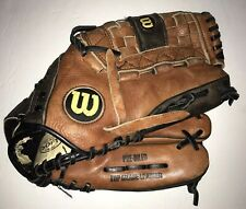 """Wilson Pro Select Baseball Glove 12.5"""" Right Hand Throw Top Grade Leather A2476"""