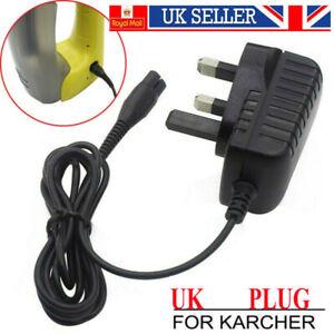 UK Plug Window Vacuum Cleaner Charger for Karcher WV75 WV50 5.5V Replace