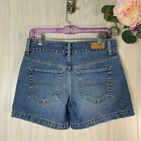 Tommy Hilfiger Denim Jean Shorts Women's Size 2 Double Button Waist